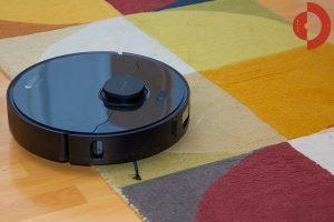 Dreame-Bot-L10-Pro-Test-Wohnraum-hoeherer-Teppich