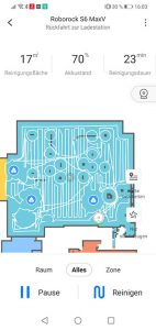 Roborock-Home-App-Roborock-S6-MaxV-Test-Objekterkennung