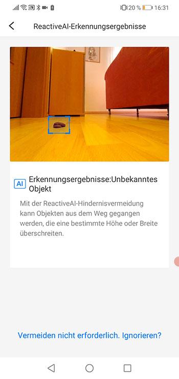 Roborock-Home-App-Roborock-S6-MaxV-Test-Objekterkennung-6