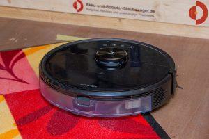 Roborock-S6-MaxV-Test-Saugtest-Quarzsand-Schmutzmatte-2