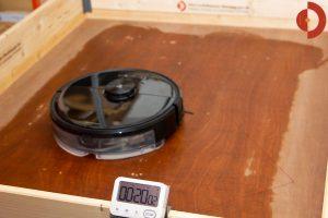 Roborock-S6-MaxV-Wischroboter-Test-Wasserverteilung-20-Min