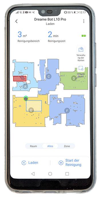 Smartphone-Dreame-Bot-L10-Pro