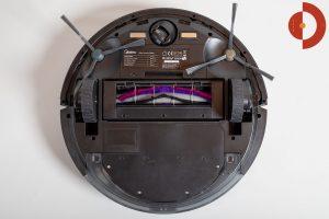 Midea-M7-Pro-Test-Saugroboter-Unteransicht