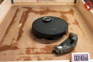 Midea-M7-Pro-Test-Wischroboter-Wasserverteilung-nach-40min
