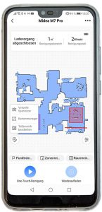Smartphone-App-Midea-M7-Pro
