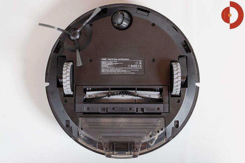 Viomi-S9-Saugroboter-Test-Unteransicht