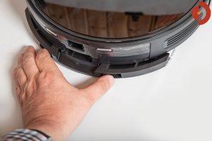 Viomi-S9-Saugroboter-Test-Wischaufsatz-anstecken-2