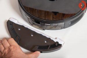 Viomi-S9-Saugroboter-Test-Wischaufsatz-anstecken