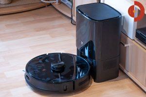 Viomi-S9-Saugroboter-Test-Wohnraum-Absaugstation-gross