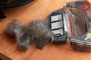 Viomi-S9-Saugroboter-Test-Haare-saugen-3