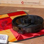 Viomi-S9-Saugroboter-Test-Schmutzmatte-saugen-1