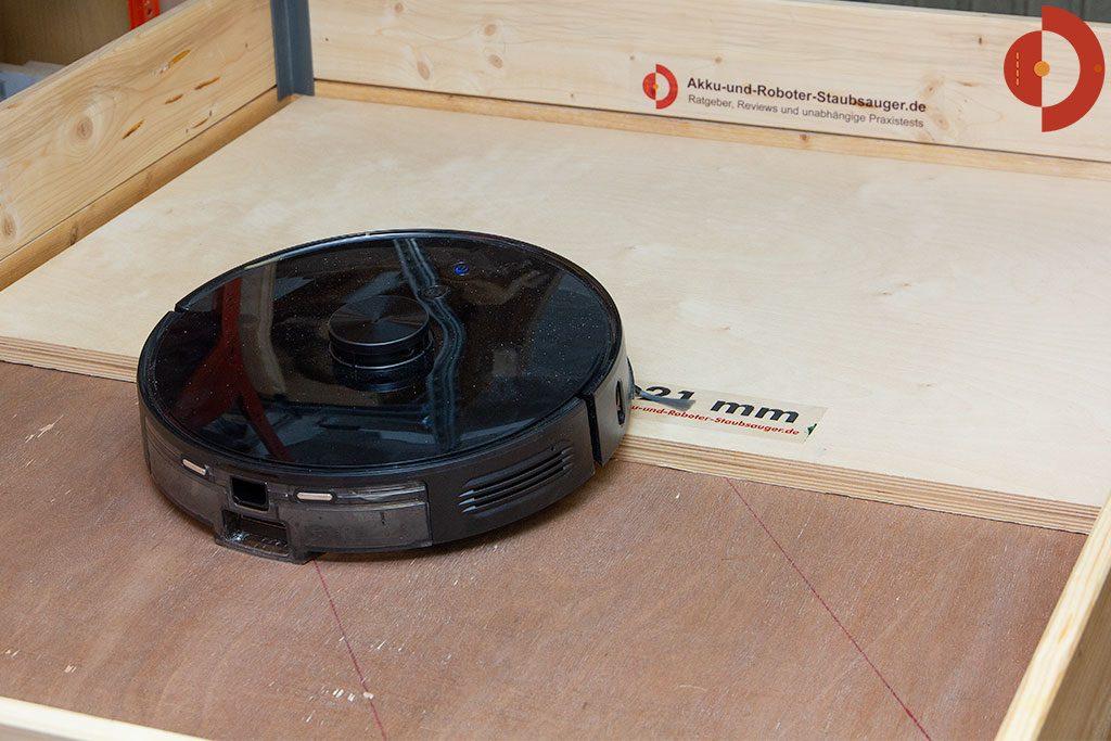 Viomi-S9-Saugroboter-Test-Tuerschwellen-ueberwinden