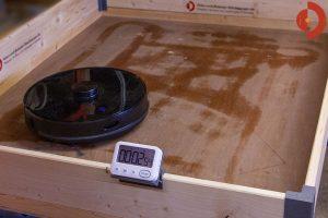 Viomi-S9-Wischroboter-Test-Befeuchtung-3min