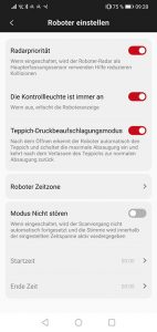 App-Roidme-Eve-Plus-Test-Roboter-Einstellungen