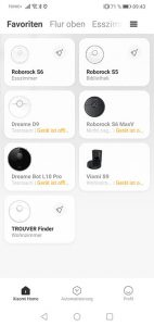 App-Trouver-Finder-Startscreen