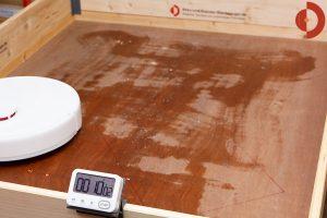 Trouver-Finder-Test-Wischtest-Wasserverteilung-10min