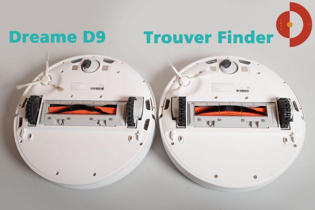 Vergleich-Trouver-Finder-Dreame-D9-Unteransicht