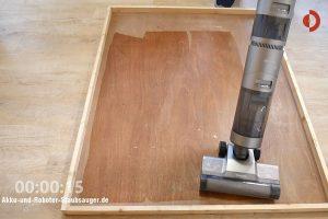 Dreame-H11-Max-Saugwischer-Test-Wasserverteilung-15sek
