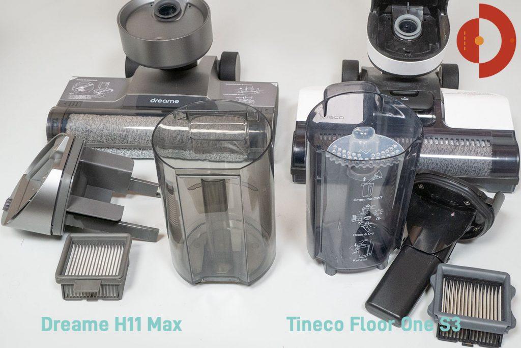 Dreame-H11-Max-Tineco-Floor-One-S3-Vergleich-Waschsauger-Nassreiniger-Saugwischer-Wischsauger-4